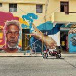 Mural honra  la memoria de Luis Días, en Ciudad Nueva